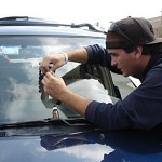 How to Repair a Windshield Chip