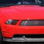 Turbocharged Ford Mustang GT spied testing