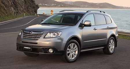 Subaru Tribeca Review The Subaru Tribeca Review