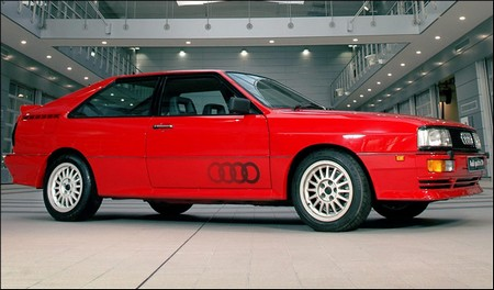 Audi Quattro The Audi Quattro is an Instant Classic