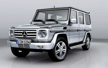 New 2011 Mercedes Benz G Class 1 The New 2011 Mercedes Benz G Class