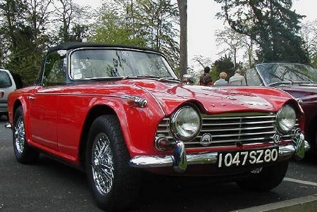 Triumph TR4 1 The Triumph TR4   The Real Speedster